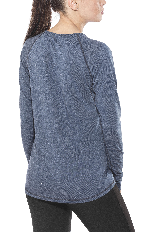 8ccde4a7301c Black Diamond Attitude - T-shirt manches longues Femme - bleu sur ...